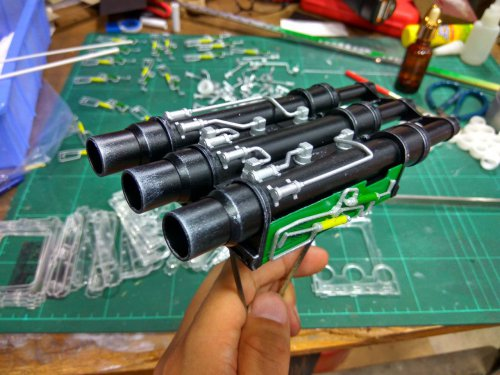 3D Printed Scale Airwolf Heavy Weapon 50 Size