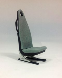 Scale Seat 1:6 Scale W/O Seat Belt