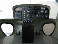 Scale Eurocopter AS350 Cockpit 50/600 Size