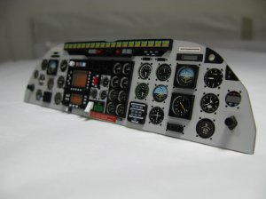 Scale Airwolf Instrument Panel for 60-90 Size