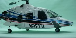Air Wolf/ Bell 222 Retracts