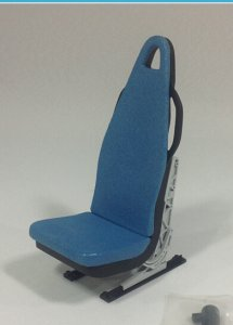 Scale Seat 1:7 Scale W/O Seat Belt