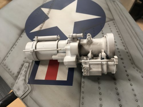 Skymaster F-4 Scale Nose Gear Upgrade Part
